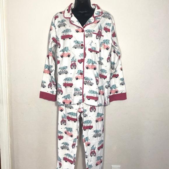 eeafb45a30 Munki Munki Medium Christmas Tree   Cars pajamas